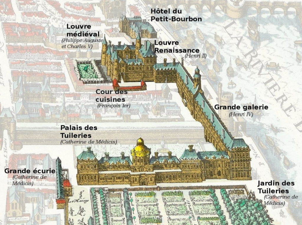 Tuileries Palace in 1615